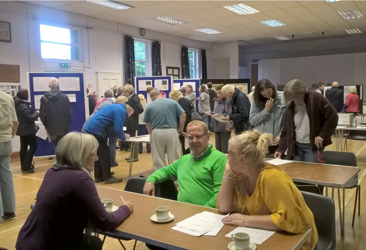 More than 150 residents attend consultation